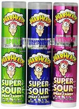 Impact Warheads Super Sour Spray Candy, 0.68 oz, 24 ct - $60.95