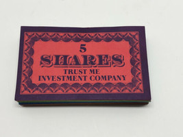 Trust Me Board Game Shares Replacement Part 1981 - $8.86