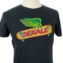Dekalb Genetics Skateboard T-Shirt Medium Seed Corn Farm Small Town Skat... - $18.99