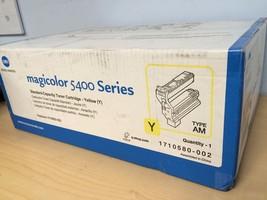 New Genuine OEM Konica Minolta Magicolor 5400 Y... - $45.07