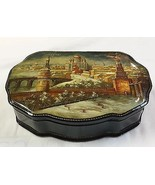 Signed FEDOSKINO Russian LARGE BLACK LACQUERED ... - $742.50