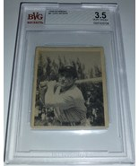 Yogi Berra 1948 Bowman #6 Rookie Card BVG 3.5 VG+ - $399.00