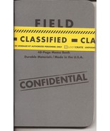 Loot Crate Exclusive Field Notes Classified Confidential Memo Mini Noteb... - $7.95