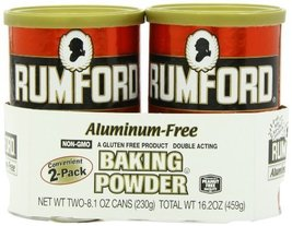 Rumford Baking Powder, 8.1 Ounce, 2 Count - $8.15