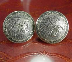 Bernice Goodspeed cuff links LARGE sterling cufflinks Vintage eagle 28 I... - $225.00
