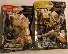 Hasbro Dungeons & Dragons Kre-O Army Bulider Packs Collection 1 & 2 Sealed - $4.95