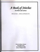 A Book Of Stitches cross stitch book The Sampler House  - $31.50