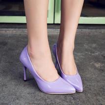 34 pump size Stiletto pointed 39 PS004 purple ZqwIAxWBER