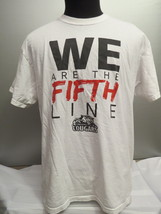 Prince George Cougars Shirt - We are the Fifth Line Graphic - Men's Extr... - $39.00