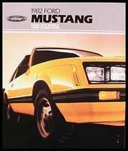 1982 Ford Mustang Brochure - $10.42