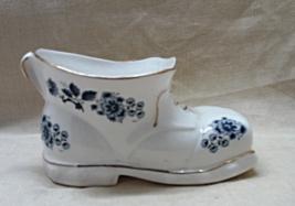 Vintage Panda Ceramics Fine Bone China Blue & W... - $12.50
