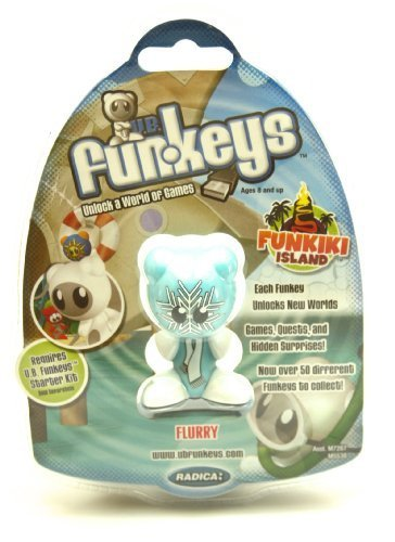 U.B. Funkeys Funkiki Islands Figure Flurry Blue [Normal Version]