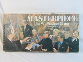 Masterpiece 1970 Board Game the Art Auction 100% Complete Excellent Cond... - $44.55