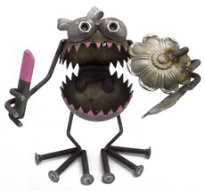 Sugarpost Gnome Be Gone Kendra the Girl Welded Metal Art Made in USA - $79.99