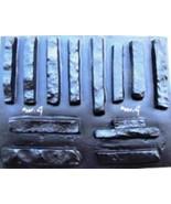 #ODF-04 Drystack Stackstone Concrete Stone Molds (13) Make 1000s Of Vene... - $99.99