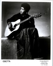 RARE Original Press Photo of Odetta a Folk and ... - $49.49