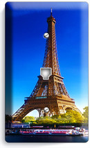 Eiffel Tower Paris Love Of City Phone Jack Telephone Wall Plate Cover Home Decor - $8.99