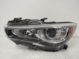 2014 2015 2016 2017 INFINITI Q50 DRIVER LH LED HEADLIGHT OEM C94L - $533.50