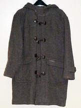 Sergio Valente Hooded Car Coat - Wool - Large U... - $39.99