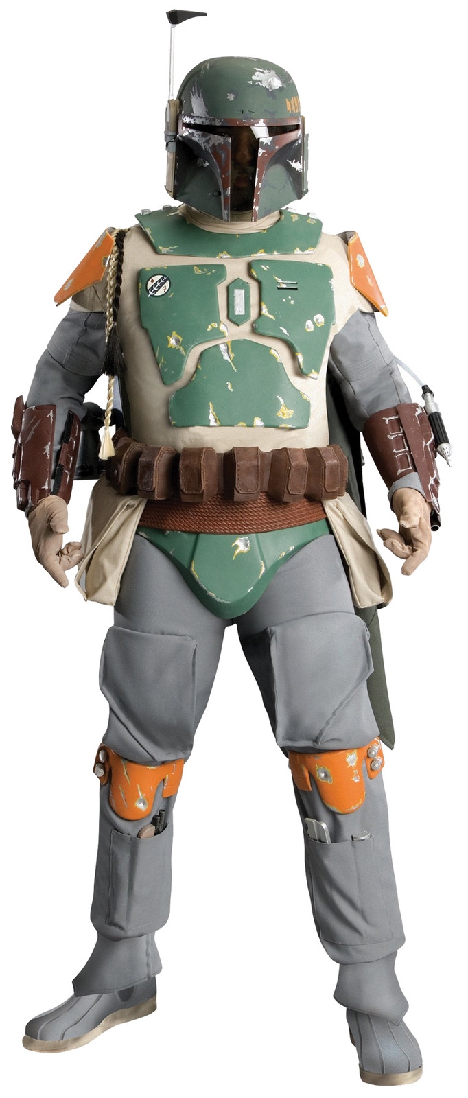 Primary image for Authentic Supreme SUPER EDITION BOBA FETT Movie Costume Star wars Licensed XL