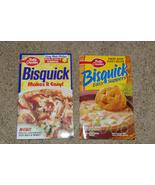 Lot of 2 Betty Crocker Cookbooks Bisquick Paperback - $10.00