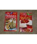 Lot of 2 Betty Crocker Cookbooks Holiday Paperback - $8.99