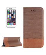 iPhone 6S Horse Texture Magnetic Horizontal Flip Leather Case with Holde... - $16.34