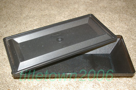Tupperware Get Together Rectangle Buffet Server and Lid Black Storage - $10.99