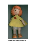vintage THUMB THING doll - $7.00