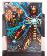 Marvel Iron Man Glossy Print 11 x 17 In Hard Plastic Sleeve - $24.99