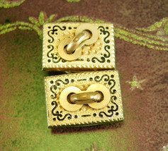 1880s Victorian Cufflinks Antique gold Taille d Epergne * Collectors Sle... - $225.00