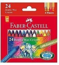 Faber-Castell 24 Jumbo Wax Crayons - Styledivahub - $29.10