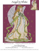 Angel In White JE005 cross stitch chart Joan Elliott Designs - $14.00
