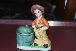 Vintage LITTLE LUVKINS Candle Holder - Cute! - $5.68
