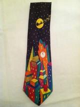 "Ugly Christmas Tie Mens Addiction Silk Necktie 53""x 3.75"" - $15.88"