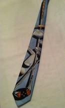 Ralph Marlin Golf Driver, Chipper & Putter 1993 Novelty Necktie - $32.71