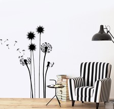 Wall Decal Flower Floral Plant Romantic Vinyl Sticker (z3627) - £14.63 GBP+