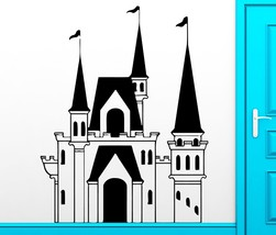 Wall Sticker Castle Tower Fairytale Middle Ages... - $20.56 - $65.44