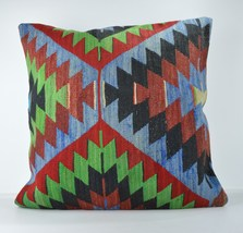 24x24'' large kilim pillow big pillow big decorative pillow cover large cushion  - $75.00