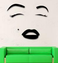 Wall Sticker Vinyl Decal Hot Sexy Girl Eyes Lip... - $28.04 - $65.44