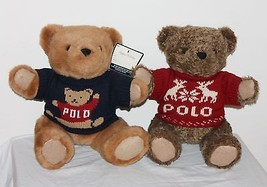"1997 1998 Ralph Lauren 15"" Plush Jointed Teddy ... - $49.49"