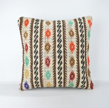 big bohemian pillow cover 18x18'' tapestry pillow bed floor big cushion ... - $19.00