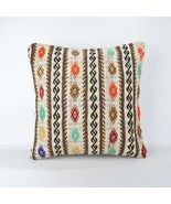 big bohemian pillow cover 18x18'' tapestry pillow bed floor big cushion ... - $55.00