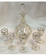 Victorian Bohemian Moser Hand Enameled Decanter... - $183.15