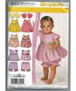 2007 Simplicity #3854 Babies Dress or Jumper, T... - $8.00