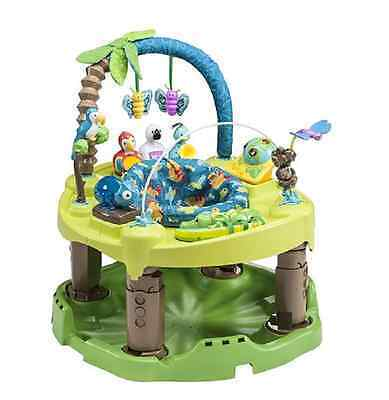 Evenflo ExerSaucer Triple Fun Saucer in Life in the Amazon Baby Learns And Plays