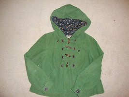 Anthropologie ELEVENSES Green and Navy Corduroy Jacket CUTE 4  - $24.69