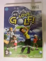 We Love Golf! new store repack PAL EU nintendo ... - $9.70