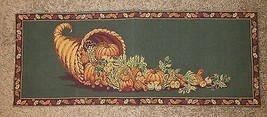 "The Manual Woodworkers & Weavers Fall Harvest Table Runner Wall Decor 33""x12.5"""