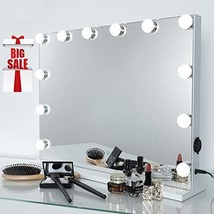 iCREAT Hollywood Makeup Mirror, Lighted Vanity Mirror, Cosmetic Mirror w... - $96.99